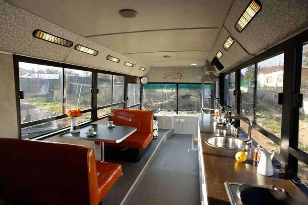 city bus tiny home conversion