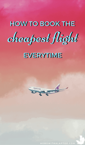 how to get a cheap flight