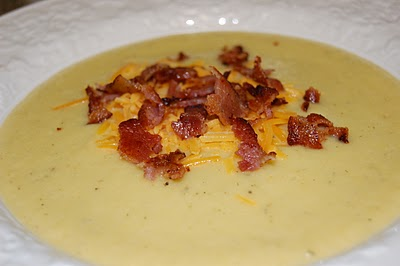 acorn squash and cauliflower soup