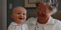 Great Grandma and Great Grandson