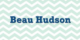 baby boy name beau hudson