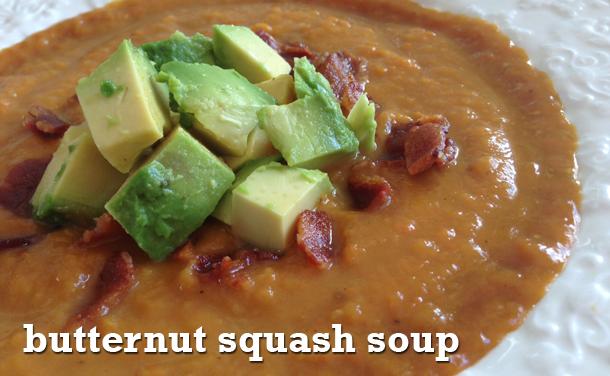 butternut squash soup paleo