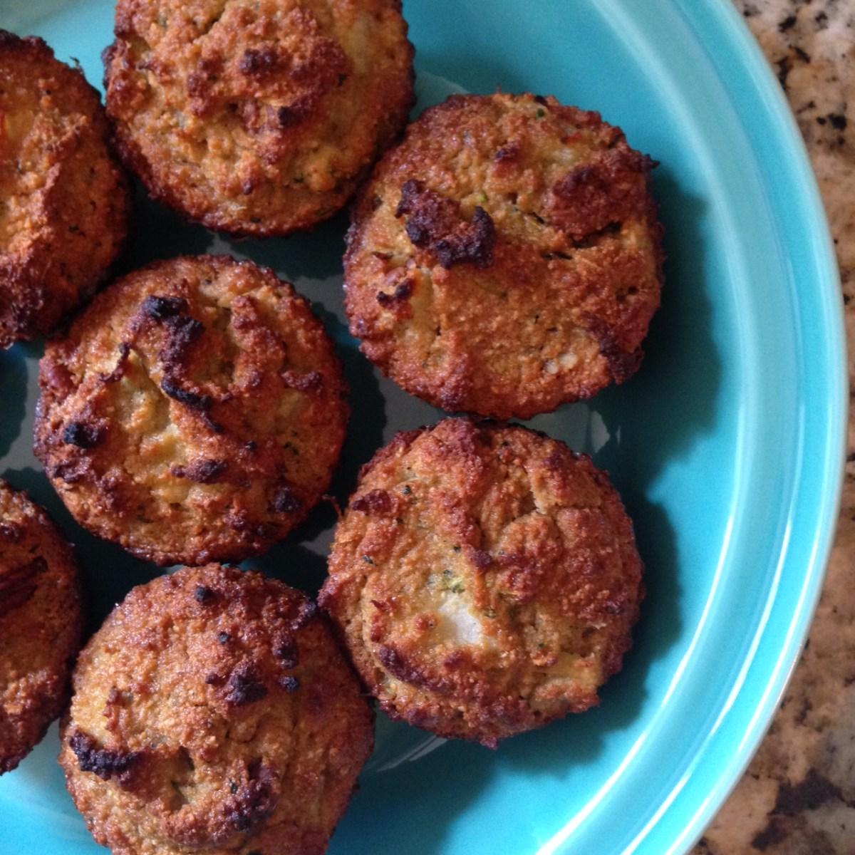 pear zucchini muffins [paleo]
