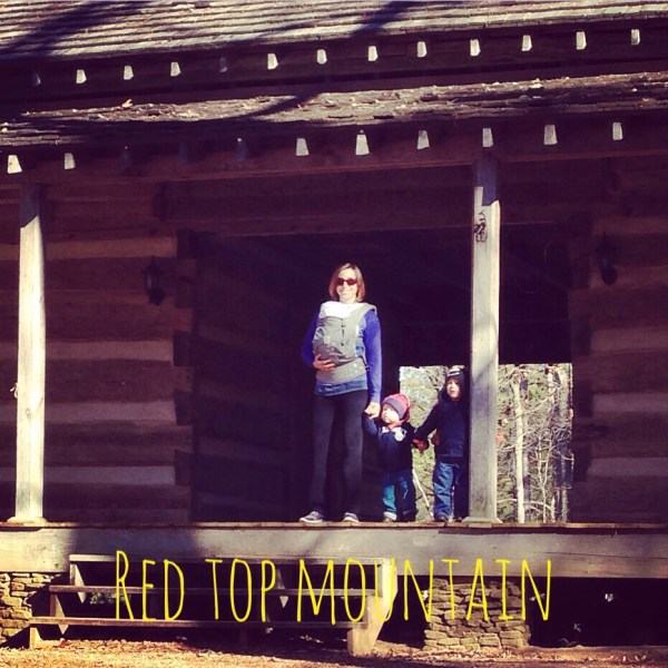 mom of three red top mt cabin