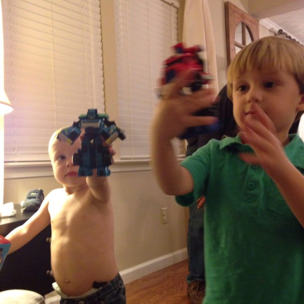 rowdy boys christmas 2015 transformers