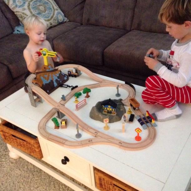 christmas 2015 train set