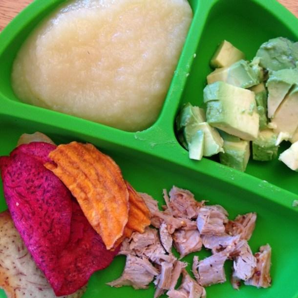 EOE lunch plate