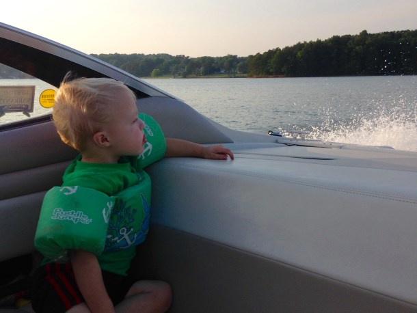 beau boat sunset