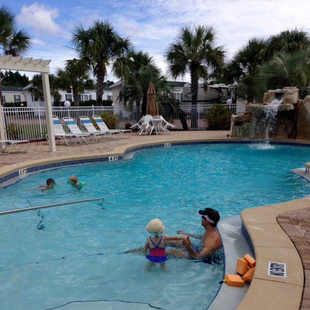 Emerald RV Resort pool PCB