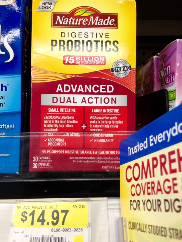 nature made probiotics at walmart 1