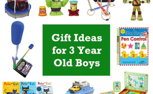 15 Gift Ideas For 3 Year Old Boys 2016 Hobson Homestead