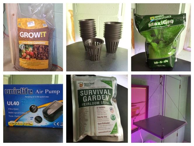 hydroponics supplies