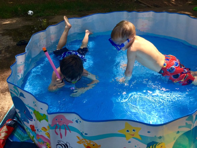 summer birthday party ideas baby pool