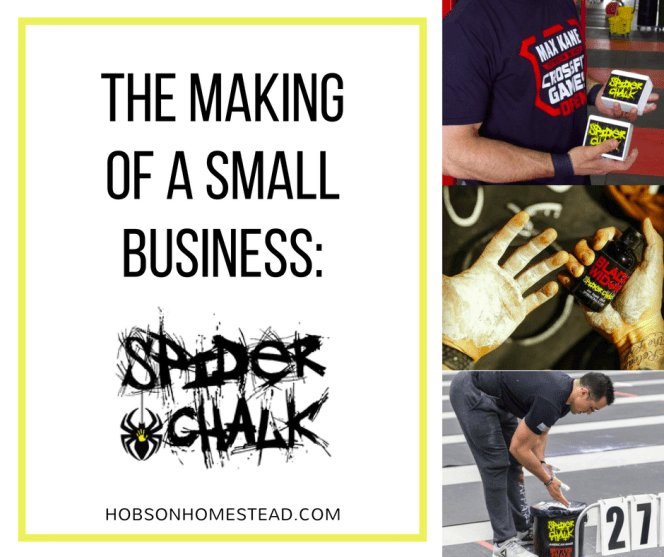 spider chalk small business startup
