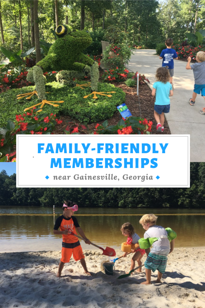 family friendly memberships near Gainesville, Georgia