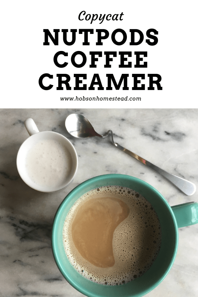 copycat nutpods coffee creamer
