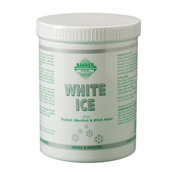 Jahutav geel Barrier white ice