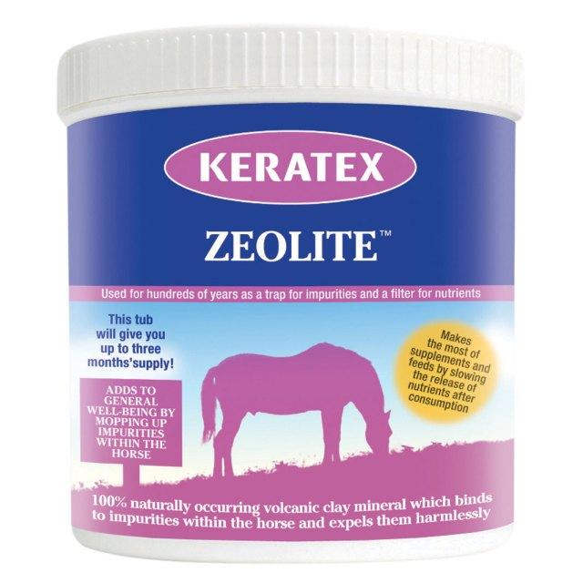 Keratex zeolite