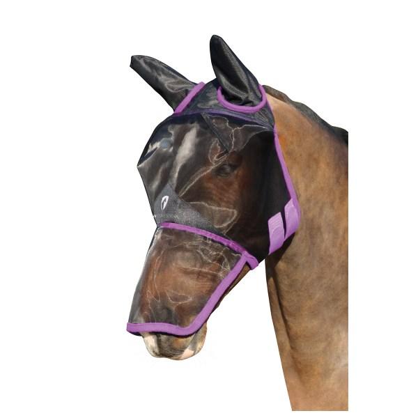 Putukamask hobusele pikendatud ninaosaga