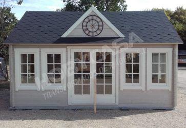 Ideas para pintar casas de madera ✔️ Hobycasa