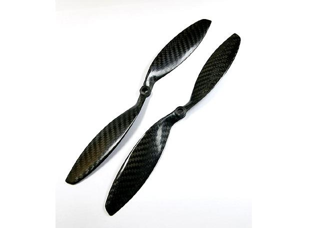 Carbon Fiber Propeller Set 12×3.8 (CW/CCW)