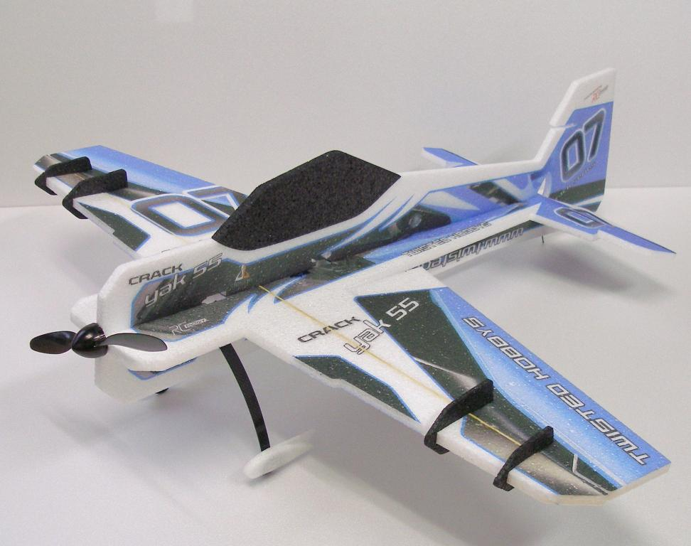 Crack Yak-55 (blue) Full Kit ARF