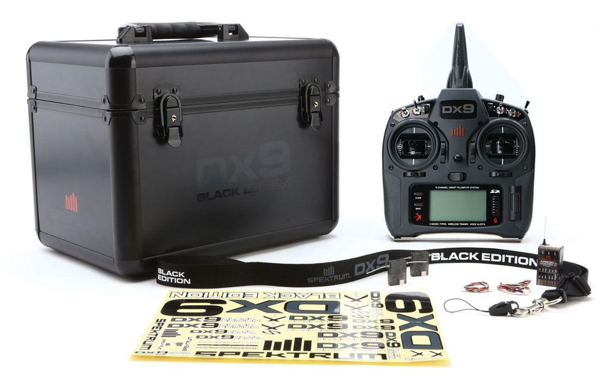 DX9 Black Edition Transmitter with AR9020 Receiver