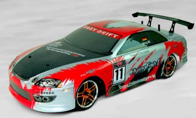 HSP 1/10th Scale Drifting Car (Flying Fish) RTF 2.4Ghz