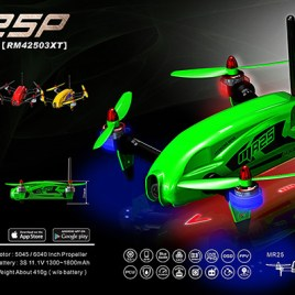 MR25P Racing Quad Combo – Green
