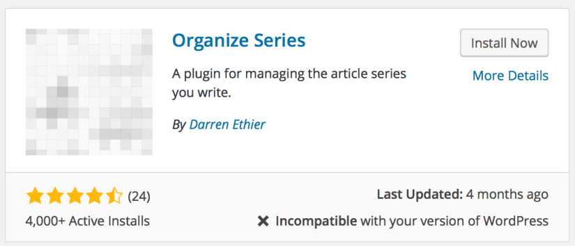 Thủ thuật tạo seri bài viết trong wordpress