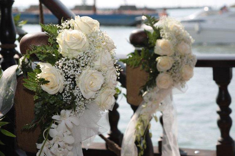 Hochzeit in Oberitalien ber die Wellen schaukeln  hoch