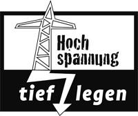 Logo Hochspannung tief legen