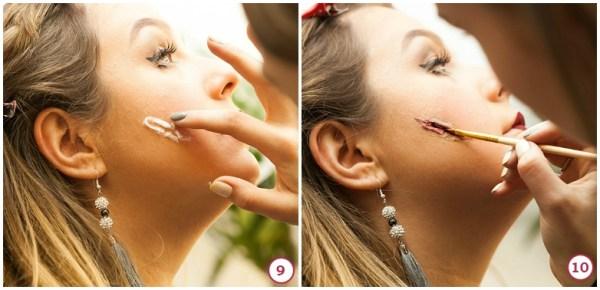 как сделать шрам на лице