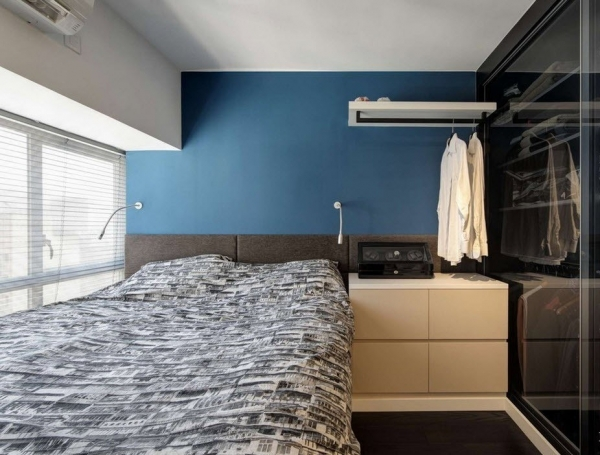 спальня в стиле модерн идеи