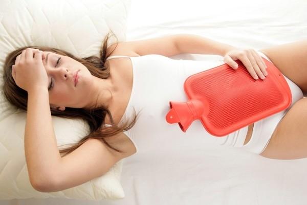 менструация у женщины фото