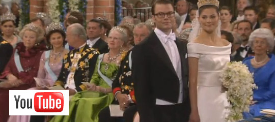 Die ungewhnlichsten Hochzeiten Victoria und Daniel Westling