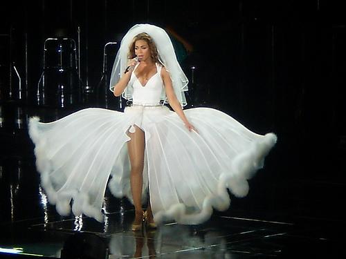 Beyoncé Im Brautkleid