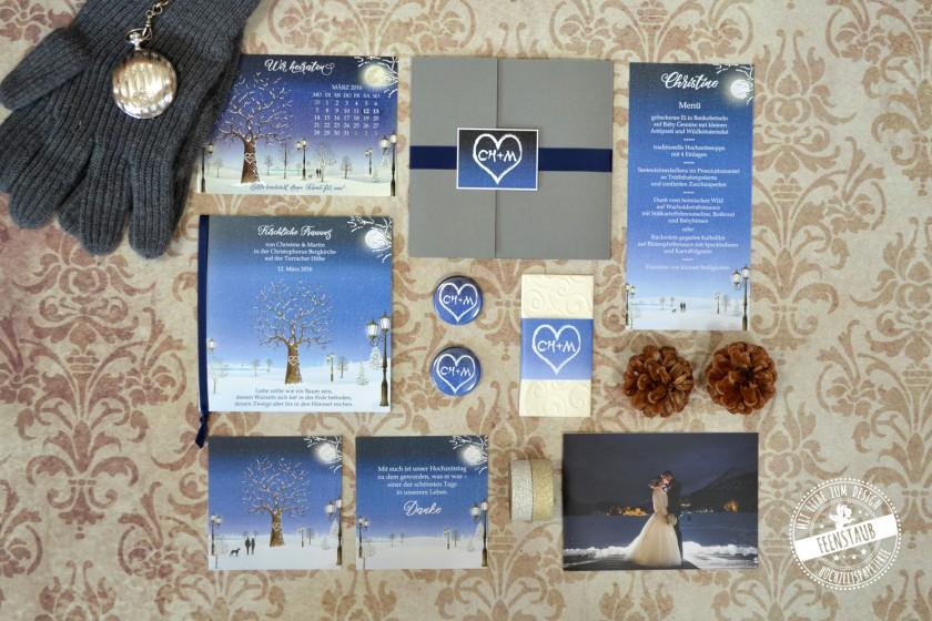 Feenstaub  Hochzeitspapeterie  Hochzeitclick