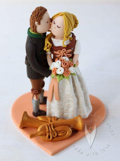 Tortenfiguren  HochzeitstortenSweettables Niedersterreich