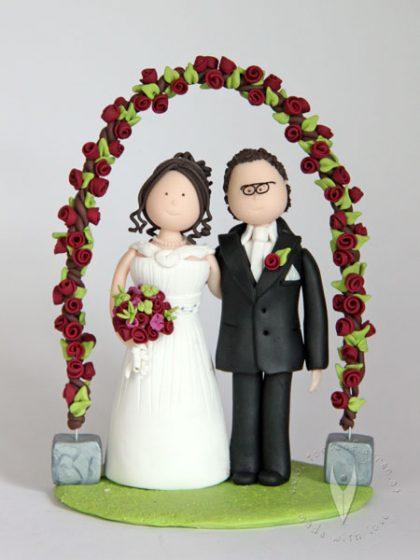 Tortenfiguren  HochzeitstortenSweettables