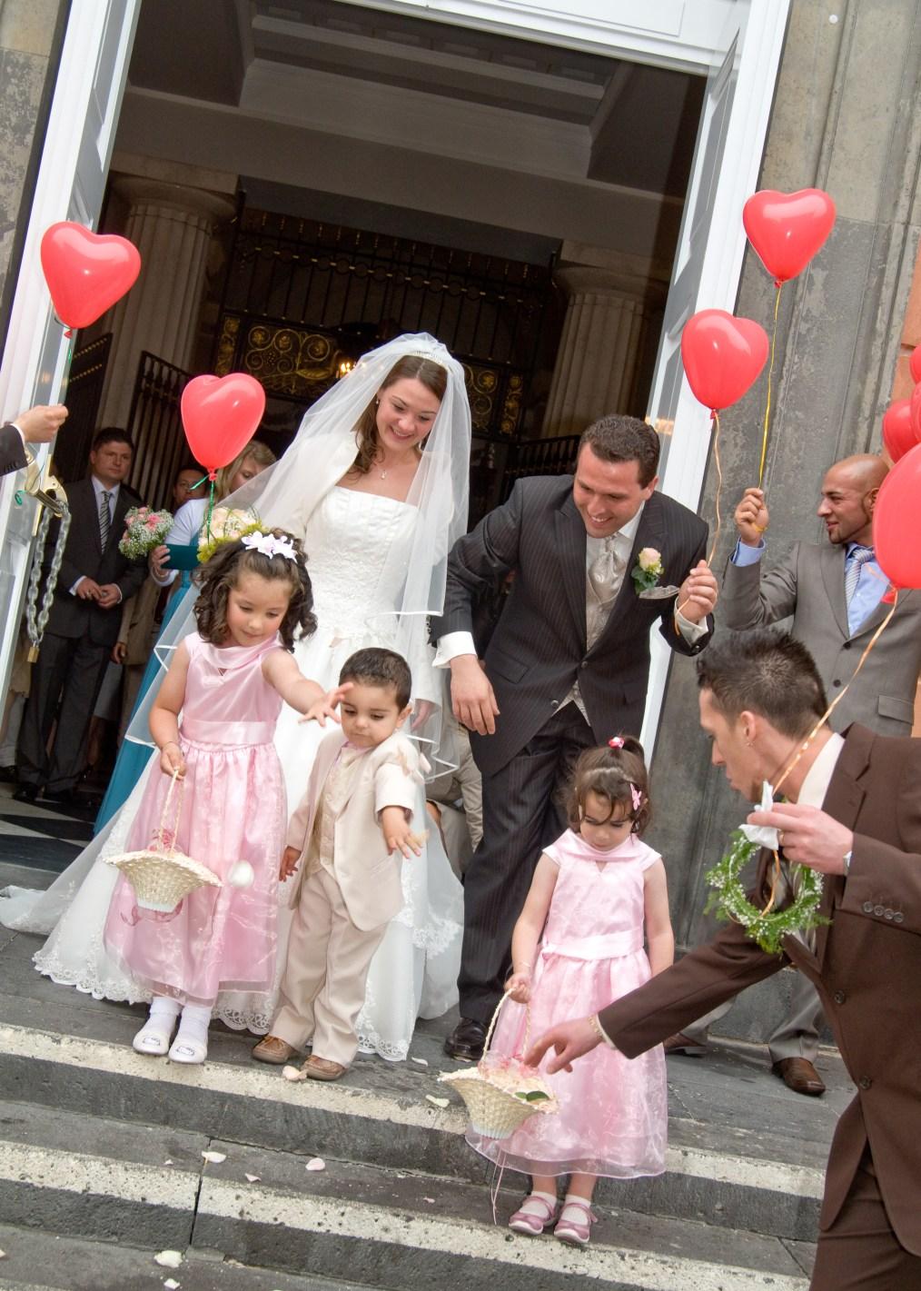Blumenkinder zur kirchlichen Trauung  Hochzeitsplaner fr Hochzeit  Wedding Planer fr