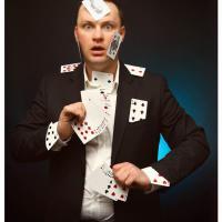 Clown  Zauberer Wrselen  Musik und Unterhaltung Clown
