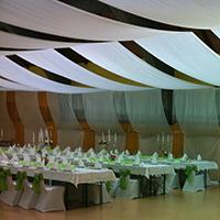 Hochzeitsdekoration Decke  Hochzeitsdekoration