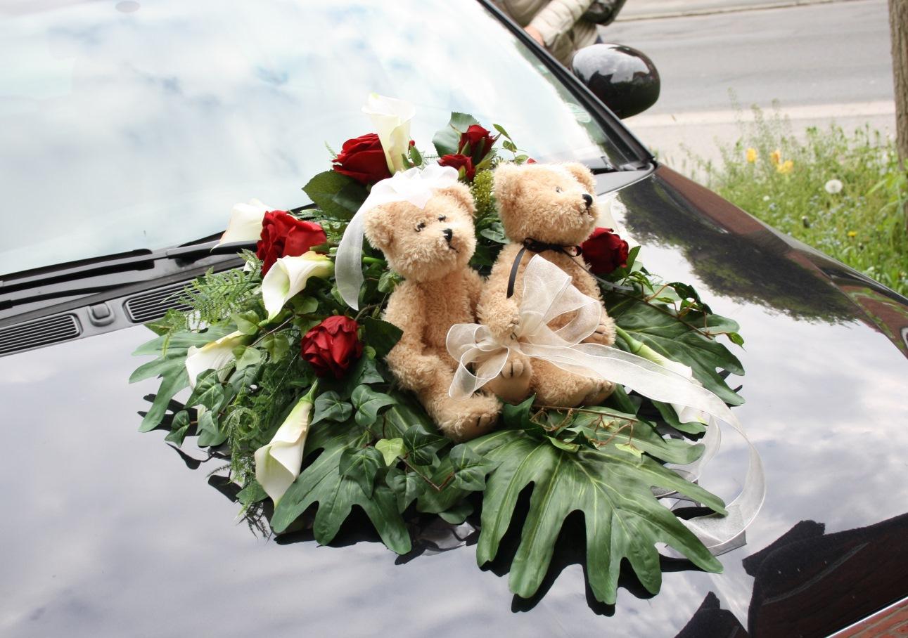 Autodeko Hochzeit Autoschmuck Bestellen Hochzeitsfloristik