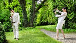 Hochzeitsfotos mit Babybauch in München: Hochzeitsfotograf Eugen Wagner