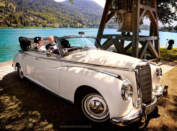 Fotoshooting Hochzeit 23: Hochzeitsbild am Tegernsee