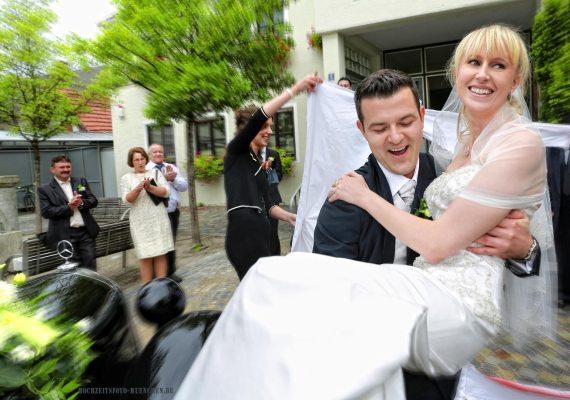 Hochzeitsreportage 08: Nach der standesamtlicher Trauung