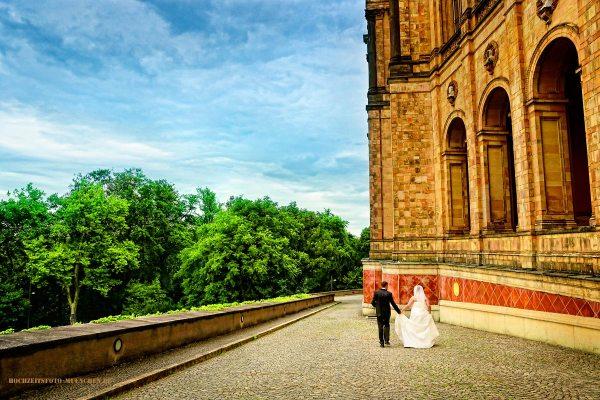 Hochzeit Fotoshooting in München: Maximilianeum