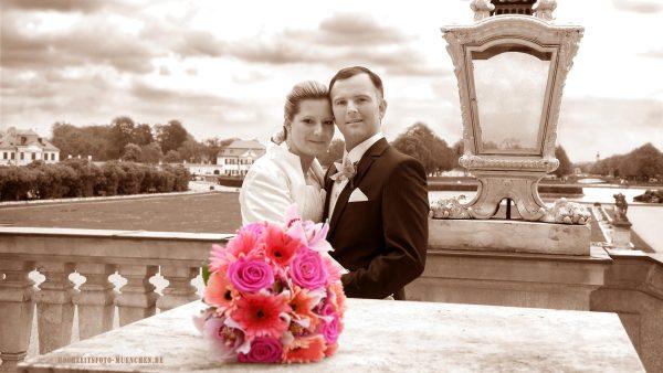 Fotoshooting Hochzeit 19: Hochzeitsshooting im Schloss Nymphenburg