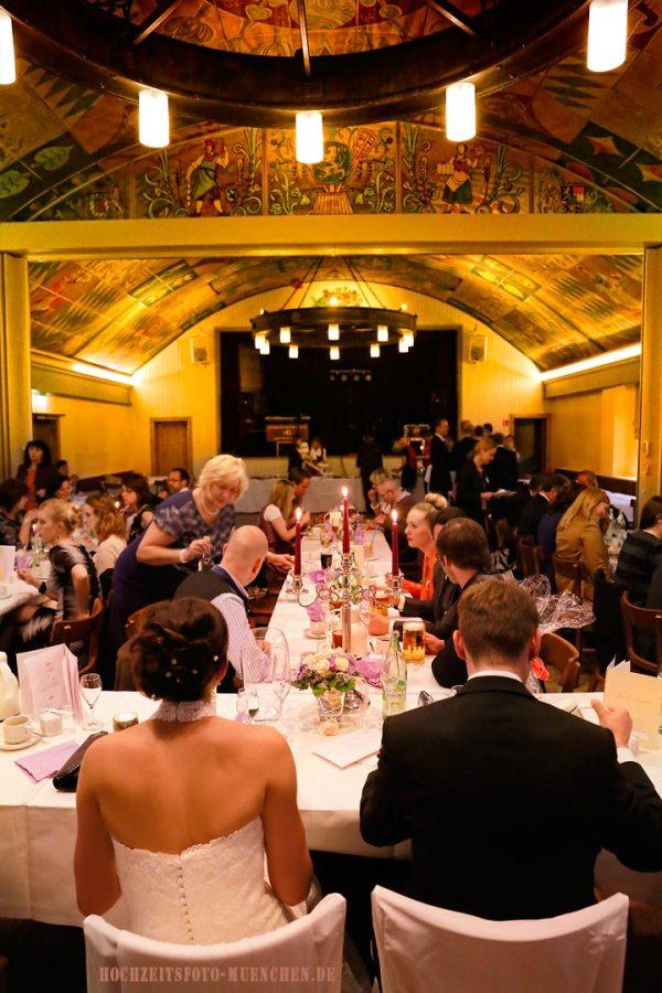 Hochzeitsreportage 19: Am Hochzeitstisch